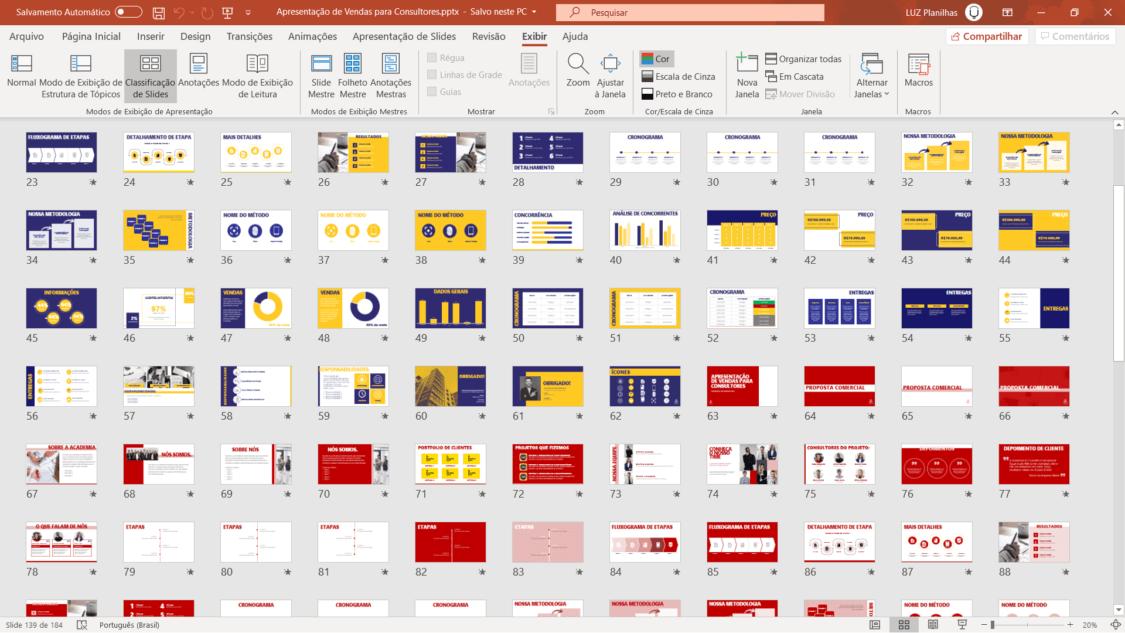 apresentação de vendas para consultores em powerpoint - slides