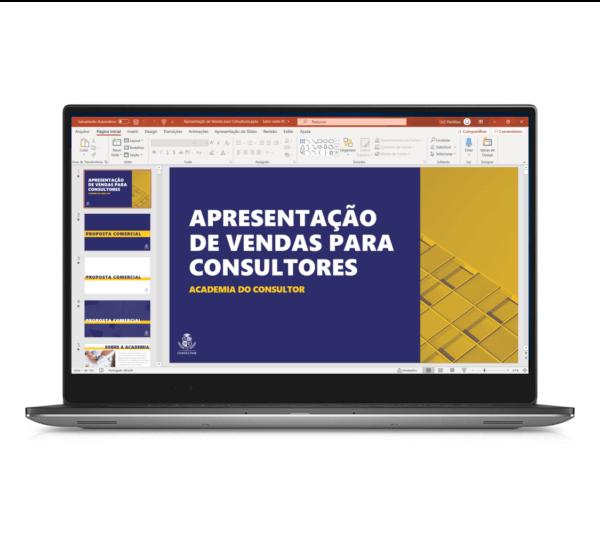 apresentação de vendas para consultores em powerpoint - thumb