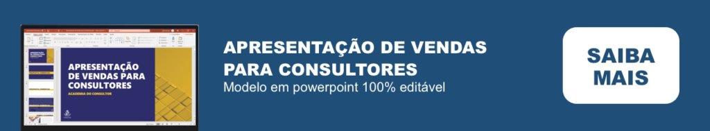 Apresentação de Vendas para Consultores em Powerpoint