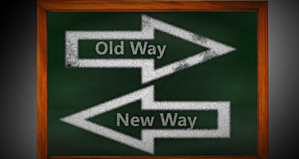 Velho Caminho x Novo Caminho (em inglês)